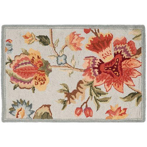 Safavieh Chelsea Snapdragon Framed Floral Wool Rug