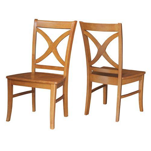 International Concepts 2-piece Salerno Chair Set