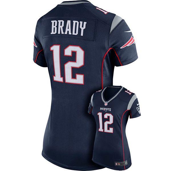 tom brady jersey women's