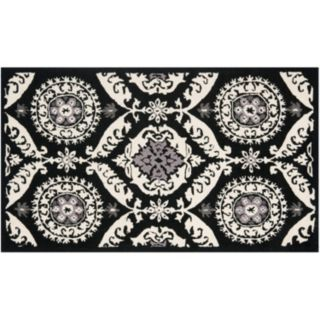Safavieh Chelsea Abstract Medallion Hand Hooked Wool Rug