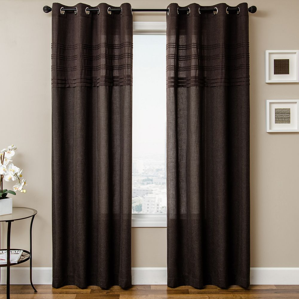 Softline 1-Panel Caruso Window Curtain