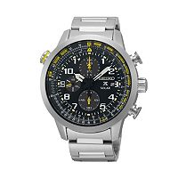 Seiko Men's Prospex Stainless Steel Solar Chronograph Watch - SSC3609