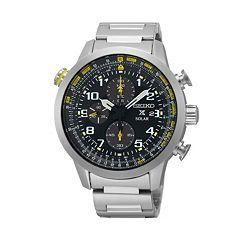 Seiko Men's Prospex Stainless Steel Solar Chronograph Watch - SSC3609