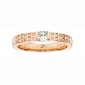 LOVE 360 14k Rose Gold 1/3 Carat T.W. Diamond Wedding Ring
