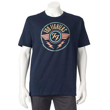 Men's Foo Fighters Wing Seal Logo Tee