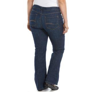 Plus Size Lee Curvy Bootcut Jeans