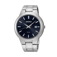Seiko Men's Core Stainless Steel Solar Watch - SNE403