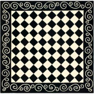 Safavieh Chelsea Checkerboard Framed Wool Rug