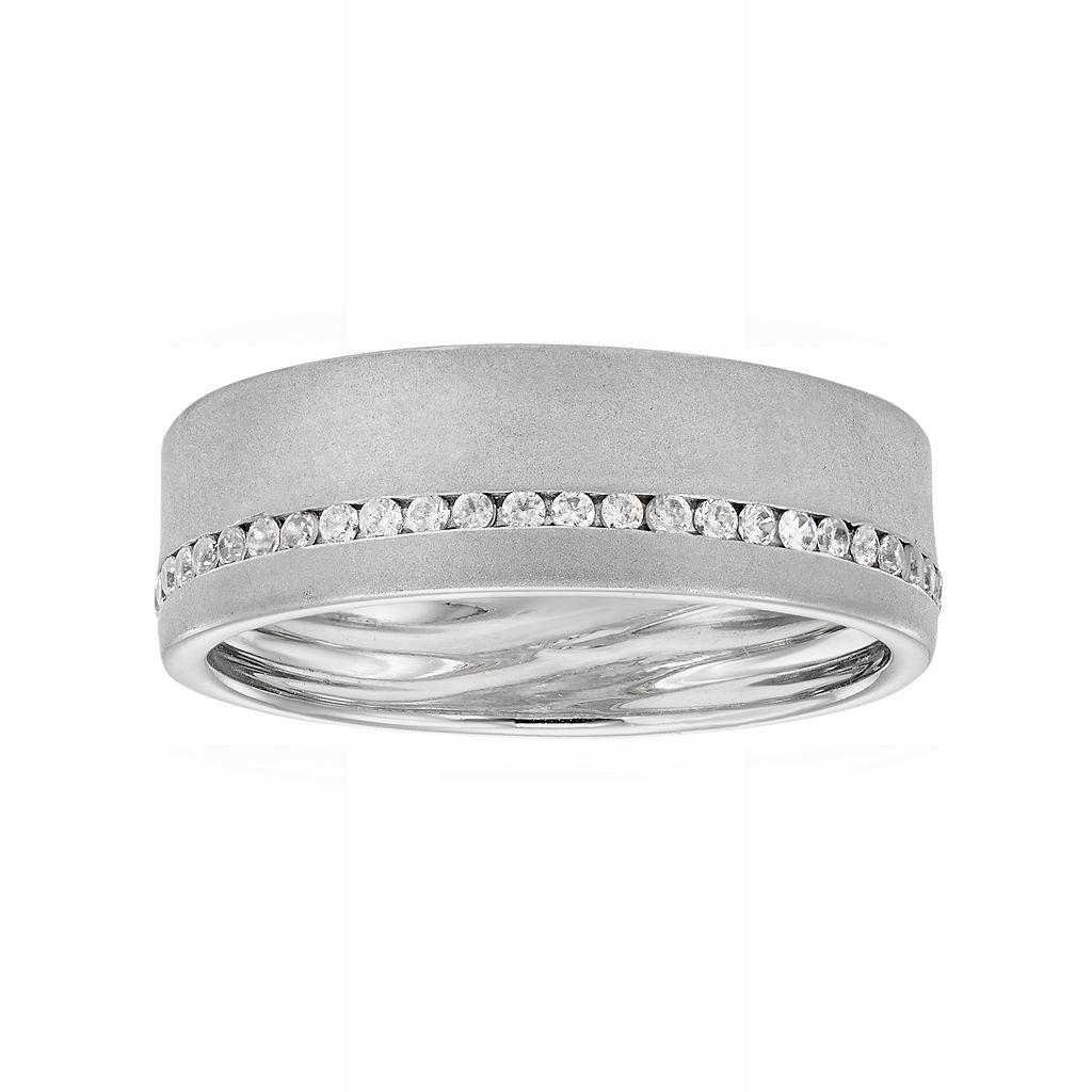LOVE 360 14k White Gold 1/4 Carat T.W. Diamond Wedding Ring