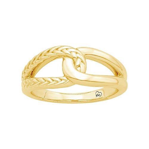 LOVE 360 14k Gold Wedding Ring