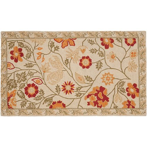Safavieh Chelsea English Rose Hand Hooked Wool Rug