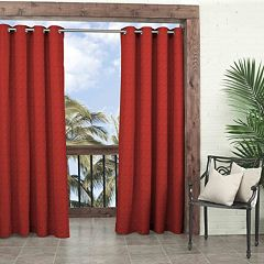 Parasol 1-Panel Key Largo Indoor Outdoor Curtain