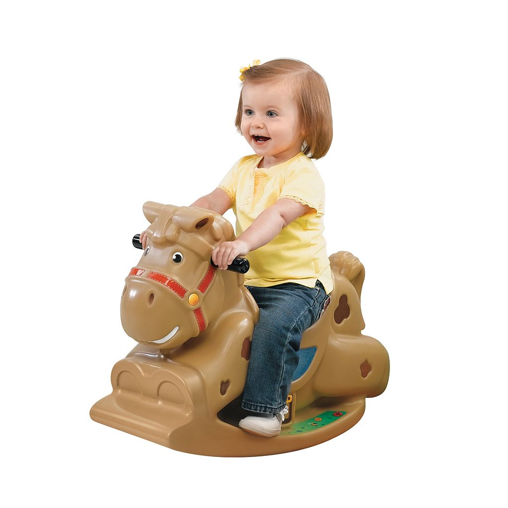 Step2 Patches the Rocking Horse