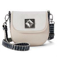 Adrienne Landau Ibiza Hudson Leather Crossbody Bag