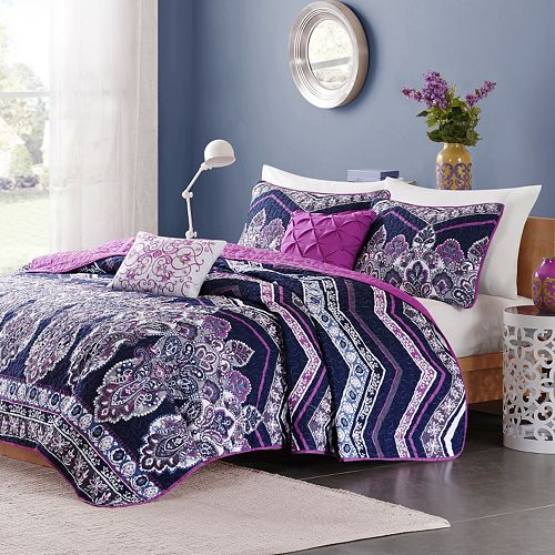 Intelligent Design Kinley Coverlet Set