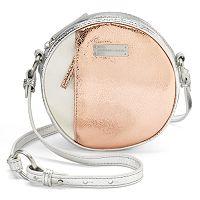 Adrienne Landau Metallic Leather Crossbody Bag