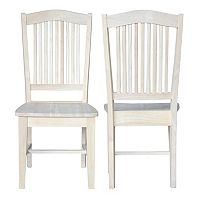 International Concepts 2-piece Stafford Chair Set
