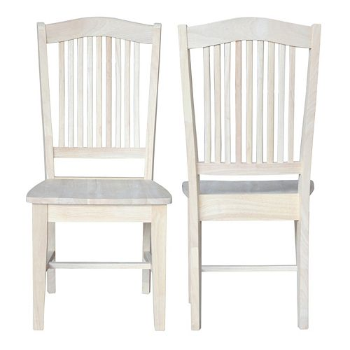 International Concepts 2-piece Stafford Chair Set