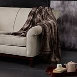 Madison Park Marselle Oversized Faux Fur Throw
