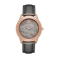 Folio Women's Leather Watch