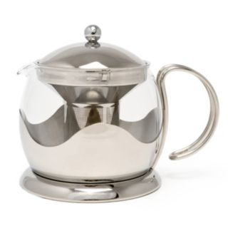 La Cafetiere Stainless Steel 4-Cup Teapot