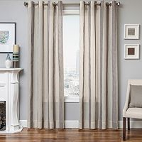 Softline Harrison Stripe Sheer Window Curtain