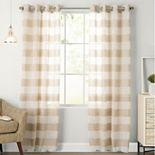 SONOMA Goods for Life® 1-Panel Naturals Attaquin Window Curtain