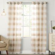 SONOMA Goods for Life? 1-Panel Naturals Attaquin Window Curtain