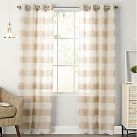 SONOMA Goods for Life™ Naturals Attaquin Window Curtain