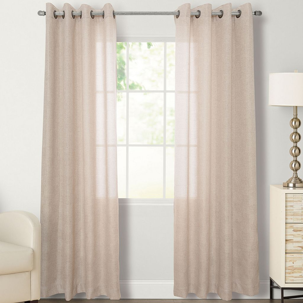 SONOMA Goods for Life™ Naturals Falmouth Curtain