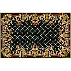 Safavieh Chelsea Pineapple Trellis Framed Wool Rug
