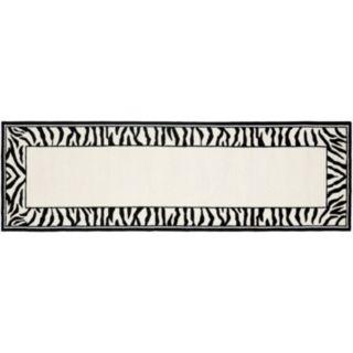 Safavieh Chelsea Zebra Hand Hooked Wool Rug