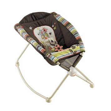Fisher-Price Striped Floral Newborn Rock 'n Play Sleeper
