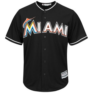 Men's Majestic Miami Marlins Cool Base Replica MLB Jersey