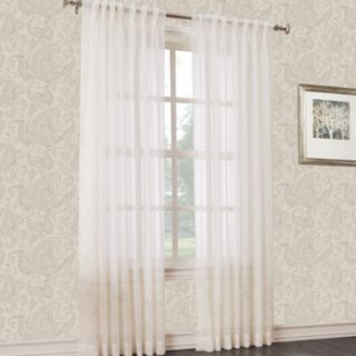 No 918 1-Panel Voile Window Curtain