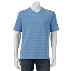 Men's Method Mock-Layer Striped Tee