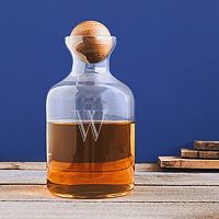 Cathy's Concepts 60-oz. Monogram Whiskey Decanter