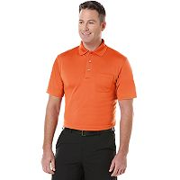 Big & Tall Grand Slam Airflow Solid Pocketed Performance Golf Polo