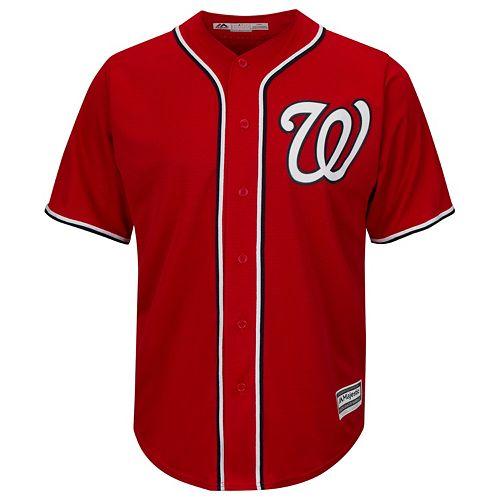 Men's Majestic Washington Nationals Replica MLB Jersey