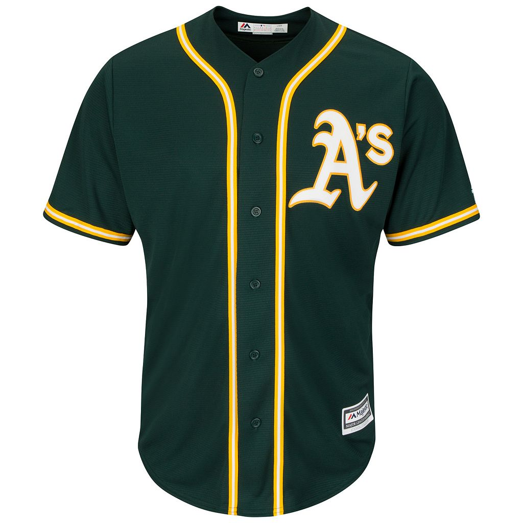 Men's Majestic Oakland Athletics Replica MLB Jersey