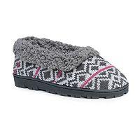 MUK LUKS Women's Striped Slide Slippers