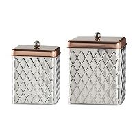 Global Amici Madagascar 2 pc Kitchen Canister Set