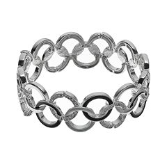 Dana Buchman Interlocking Circles Stretch Bracelet