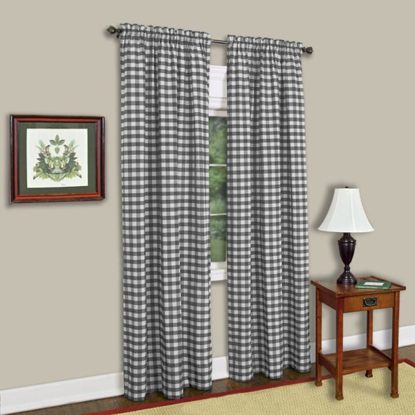 Buffalo Check Curtain Panel