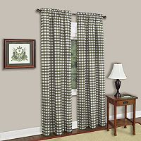 Buffalo Check Window Curtain