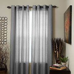 Portsmouth Home Olivia Jacquard 2-pack Window Curtains