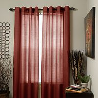 Portsmouth Home Olivia Jacquard Window Curtains