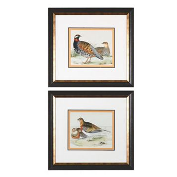 Quail Wall Art 2-piece Set
