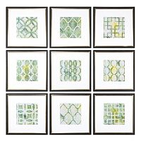 Metric Links Wall Art 9-piece Set