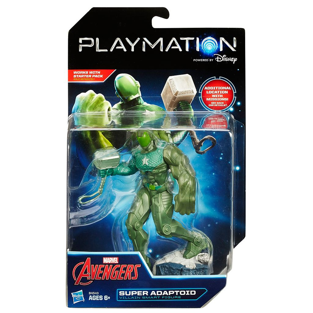 Marvel Avengers Playmation Super Adaptoid Villain Smart Figure by Hasbro